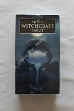 NEW Silver Witchcraft Tarot Deck Cards Barbara Moore DISCOUNTED FOR DENTED BOX