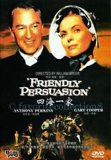 Friendly Persuasion DVD Region 3 VGC Classic Films Movies