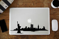 "New York Skyline 2 Decal for Apple MacBook Air/Pro Laptop 11"" 12"" 13"" 15"""