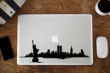 "New York Skyline 2 Decal for Apple MacBook Air/Pro Laptop 11"" 12"" 13"" 15"""
