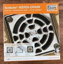 Schluter Kerdi Shower Drain Kit Chrome