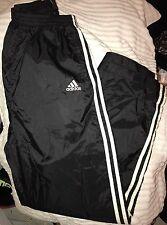 Men's Medium Adidas tearaways shiny nylon track pant