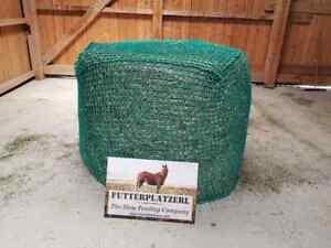 HORSEFEED BOX - Rundballenheunetz - AKTIONSPREIS - Rundballennetz - Masche 10cm