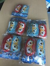 Lot Of 120 New Ice Age Eye Mask Blue And Red Costume Dress Up Birthday Party