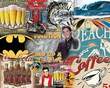 25 MISC. TIN SIGN ASSORTMENT FROM TOP SELLING CATAGORIES $7.95 EA FREE SHIPPING