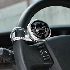 FOURING Platinum Power Steering Wheel Spinner Knob Silver