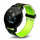 Sports Smart Watch Bluetooth Heart Rate Blood-Pressure Monitor Fitness Tracker