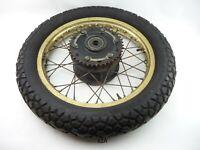 Yamaha XT 500 1U6 Bj.1981 °rear wheel° Rad Felge Hinterrad 18x1.85