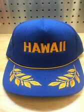 Hawaii Trucker Hipster Skater Cap Hat Embroidered