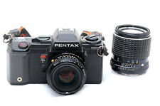 Pentax A3 with a 50mm F1.7 A and 135mm F3.5 M