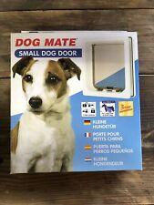 Dog Mate Multi Insulation Dog Door - White Small. Never Opened. C24.