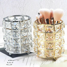 Cosmetic Organizer Makeup Brush Holder Case Jewelry Storage Box Desktop Bucket