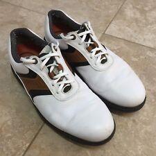 FOOTJOY Contour Series 54130 Golf Shoes Men's Size 11 M White Optiflex