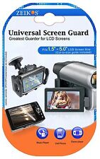 LCD Guard 3 Clear Screen Protector For JVC Everio GZ-R550 GZ-R440 GZ-R450