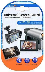 LCD Guard 3 Pcs Clear Screen Protector For Canon XA15 XA11 Vixia HF G21