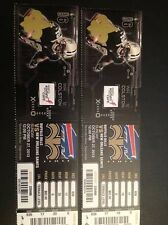 2013 NEW ORLEANS SAINTS VS BUFFALO BILLS TICKET STUB 10/27/13 DREW BREES