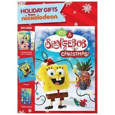 SpongeBob SquarePants: It's a SpongeBob Christmas! (DVD/Poster/Stickers/MORE)NEW