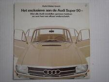 AUDI  Super 90  brochure/Prospekt  09-1967.
