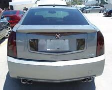 03-07 CADILLAC CTS SMOKE TAIL LIGHT PRECUT TINT COVER OVERLAYS FULL REAR KIT