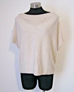 Laura Ashley Angora Wool Cream Knit Size S 10