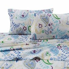 Threshold California King Flannel Sheets Pillowcases eBay