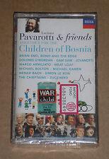 PAVAROTTI & FRIENDS (U2, ZUCCHERO) -FOR THE CHILDREN OF..-MUSICASSETTA SIGILLATA