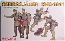 Dragon, 1/35 Kit 6345 German WW2 GEBIRGSJAGER 1940-1941