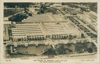 Real photo palace of industry from the air british empire exhibition Fleetway