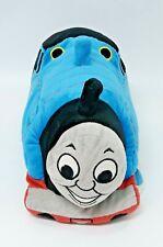 "THOMAS THE TRAIN Tank Engine Micro Bead Plush Cuddle Pillow Soft Stuffed Toy 16"""