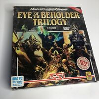 "Advanced Dungeons & Dragons Eye Of The Beholder Trilogy 3.5"" Floppy Complete"