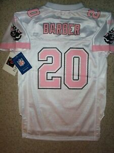 ($55) Tampa Bay Buccaneers Bucs RONDE BARBER nfl Jersey Youth *GIRLS* (m-medium)