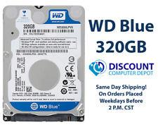 "320GB 2.5"" HDD Notebook / Laptop Hard Drive Internal SATA Western Digital Blue"