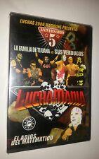 LUCHAS 2000 MAGAZINE PRESENTS Luchamania - DVD In Spanish