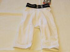 Under Armour Heatgear Youth S shorts white 5 pocket girdle football *spots* Nos