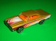 ### HOTWHEELS METALFLAKE GOLD '70 1970 ROADRUNNER MOPAR MADE IN MALAYSIA