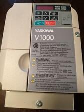 Yaskawa Cimr Vu4a0004faa V1000 Rev D Frequency Drive