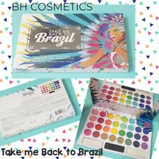 BH COSMETICS Take Me Back To Brazil 35 Matte Eye Shadow Palette Pressed Pigment