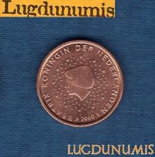 Pays Bas 2000 2 centimes d'Euro SUP SPL Pièce neuve de rouleau - Netherlands