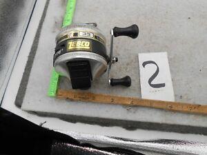 VINTAGE ZEBCO 33 RHINO TOUGH  SPINCASTING FISHING REEL 1989 #2