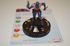 Marvel Heroclix Nick Fury, Agent of S.H.I.E.L.D. Union Jack Rare 043a