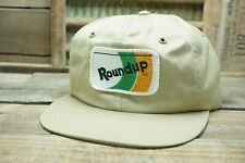 Vintage ROUNDUP SnapBack Trucker Hat Cap Patch