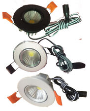 2inch DC 12V 3w COB  led ceiling/puck light,led spotlight, dimmable