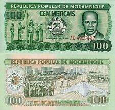 MOZAMBIQUE 100 Meticais Banknote World Paper Money UNC Currency PIck p130a Bill