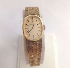 Women's Vintage Omega 10K Gold Filled Manual Wind Wristwatch