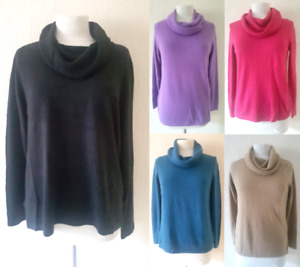 WOMENS M&S JUMPER MARKS AND SPENCER NEW LADIES SOFT RIBBED SIZE 6-18 FREE P&P