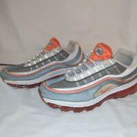 Nike Air Max 24-7 White Orange Grey US Men's 13 Shoes 397252-101 Running Walking