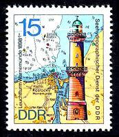 1954 postfrisch DDR Briefmarke Stamp East Germany GDR Year Jahrgang 1974