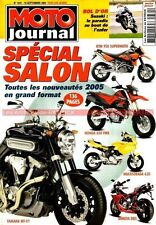 MOTO JOURNAL 1631 YAMAHA MT-01 R6 SUZUKI 750 Inazuma TRIUMPH 1050 Speed Triple