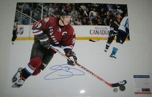 JOE SAKIC Signed Colorado AVALANCHE 16x20 PHOTO w/ PSA COA