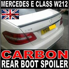 Mercedes E Class W212 saloon E63 style Carbon Rear Boot Spoiler